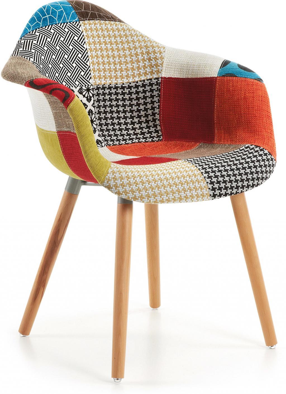 stuhl kenna kevya patchwork la forma kaufen wohn und lifestylewebshop. Black Bedroom Furniture Sets. Home Design Ideas