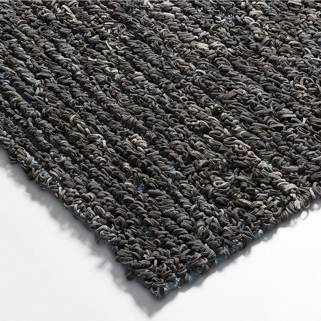 vloerkleed massey grijs leer 230 x 160 cm la forma. Black Bedroom Furniture Sets. Home Design Ideas