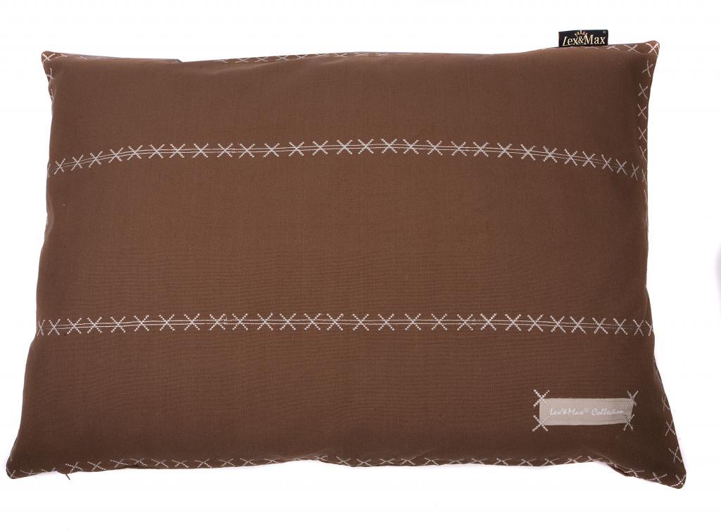 kissenbezug triple 100 x 70 cm taupe lex max kaufen wohn und. Black Bedroom Furniture Sets. Home Design Ideas