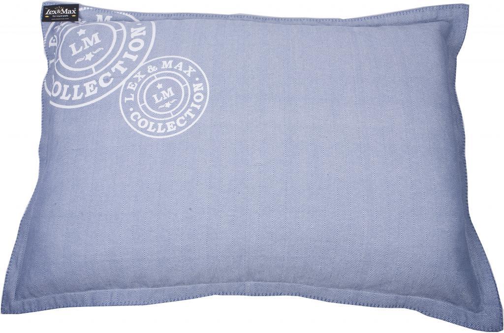 kissenbezug fischgr t 100 x 70 cm blau lex max kaufen wohn und. Black Bedroom Furniture Sets. Home Design Ideas