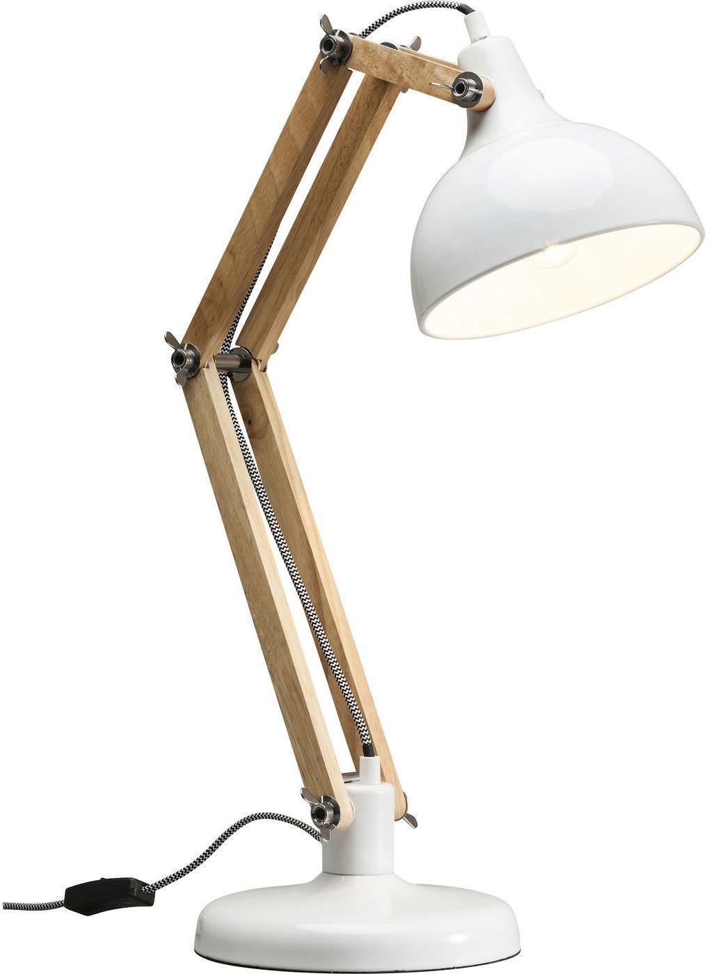 Tischlampe work station wei 65x20x35cm kare design for Kare design tischlampe