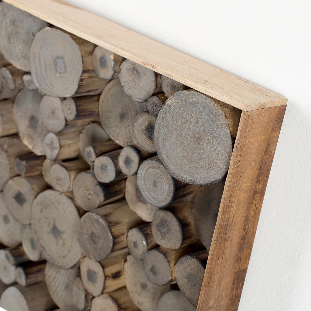 wanddekoration jimmy holz grau la forma kaufen wohn und lifestylewebshop. Black Bedroom Furniture Sets. Home Design Ideas