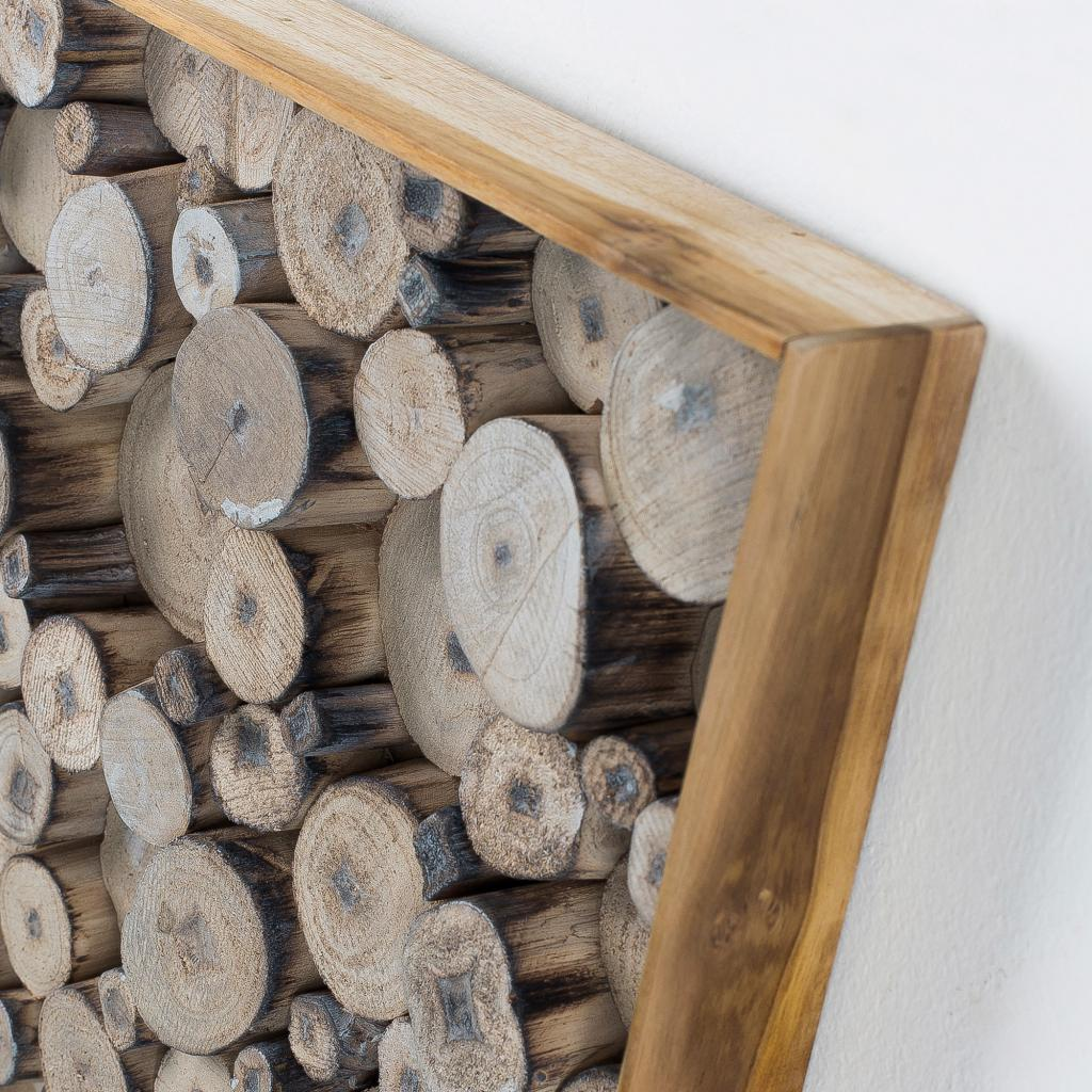 wanddekoration jimmy holz naturell la forma kaufen wohn und. Black Bedroom Furniture Sets. Home Design Ideas