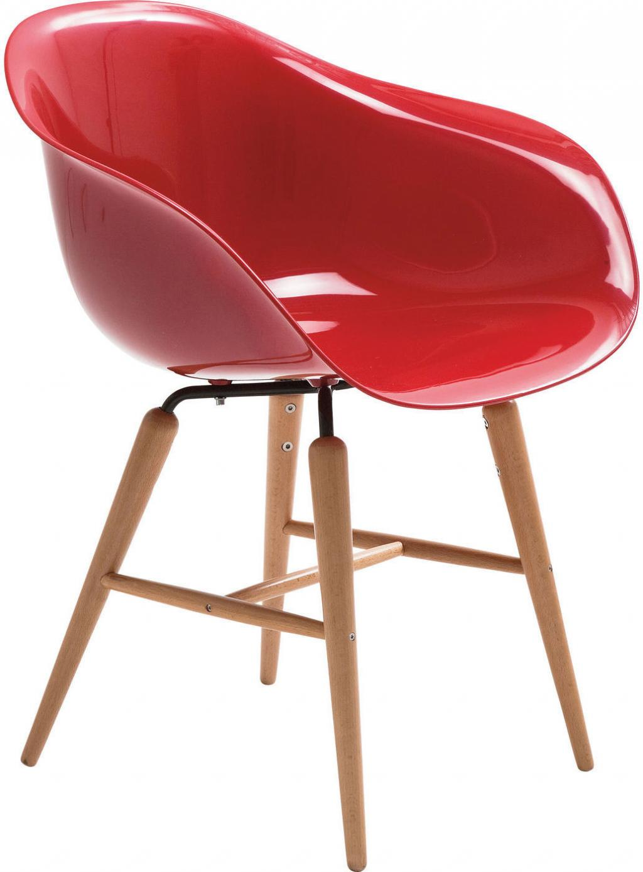 Stuhl forum wood rot mit armlehne kare design kaufen - Kare design stuhl ...