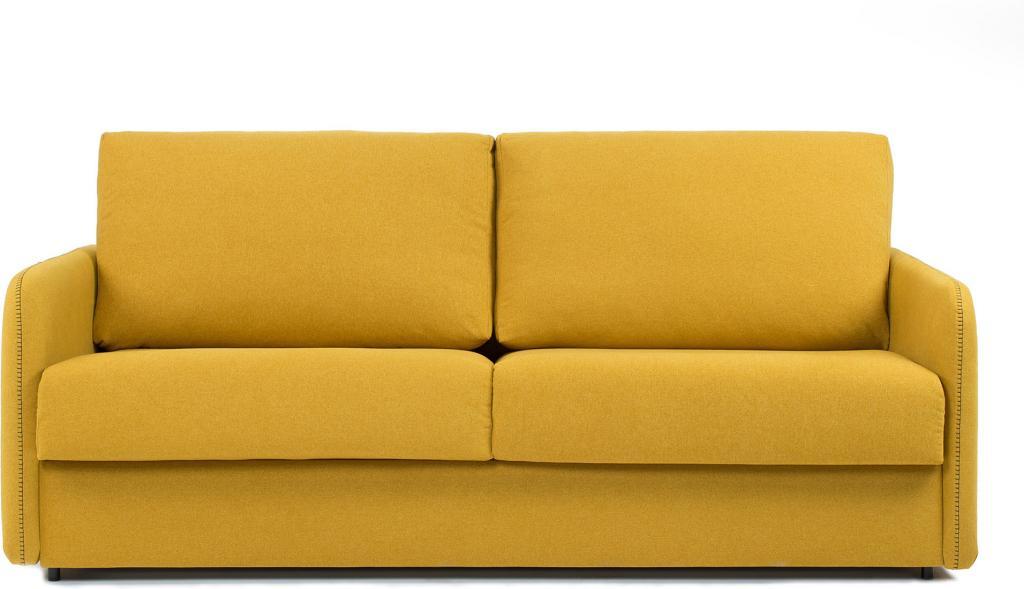 schlafcouch komoon 160 polyurethan matratze senffarbig la forma kaufen lilianshouse. Black Bedroom Furniture Sets. Home Design Ideas