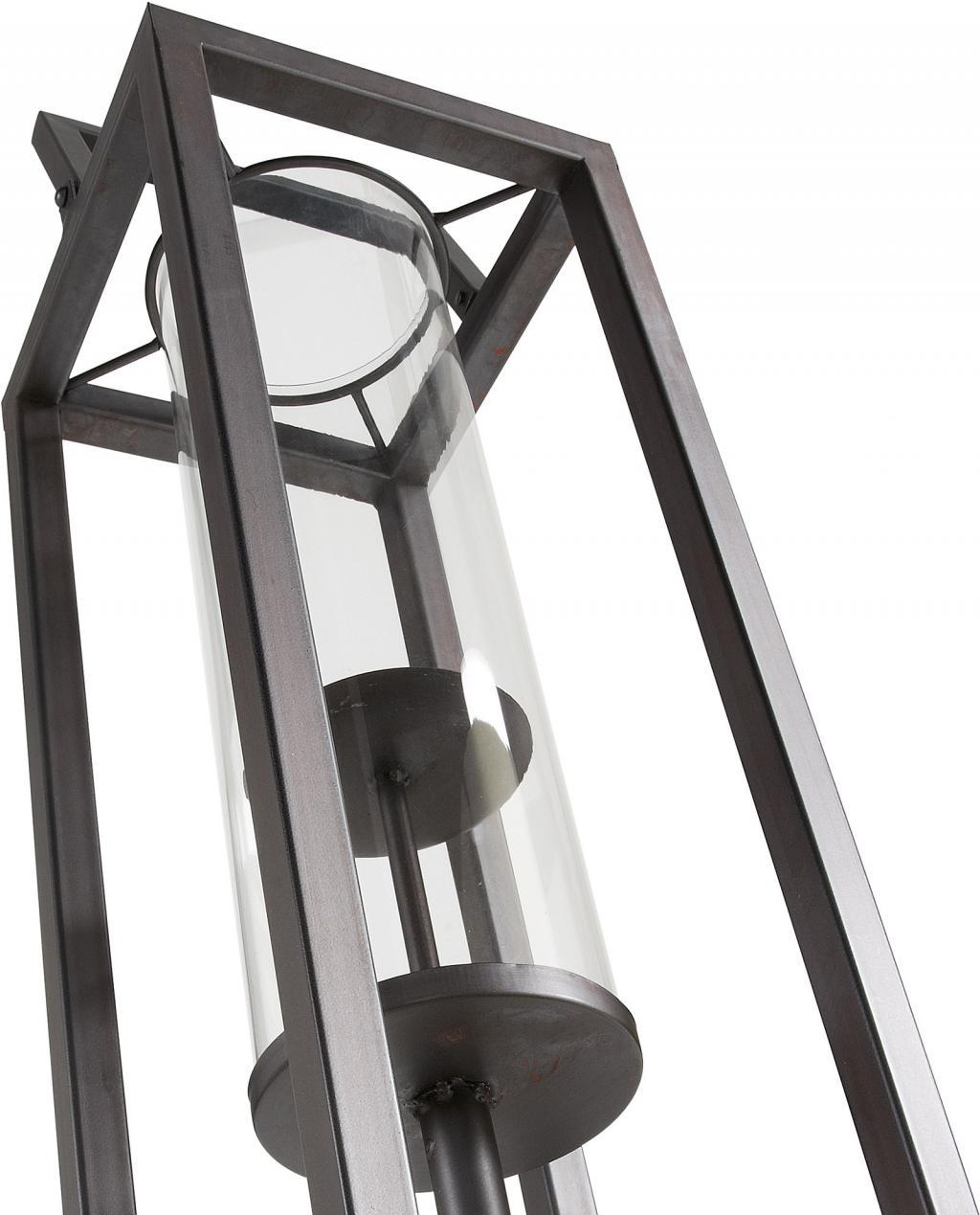 kerzenst nder coastal h 114cm metall schwarz la forma kaufen wohn. Black Bedroom Furniture Sets. Home Design Ideas