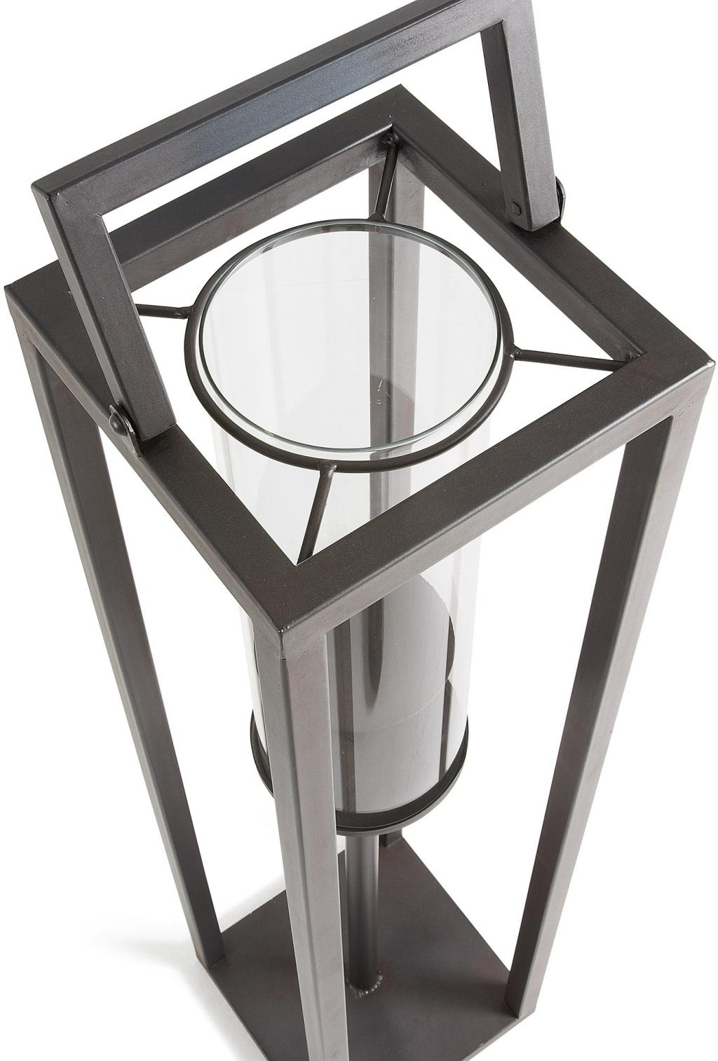 kerzenst nder coastal h 94cm metall schwarz la forma kaufen wohn. Black Bedroom Furniture Sets. Home Design Ideas