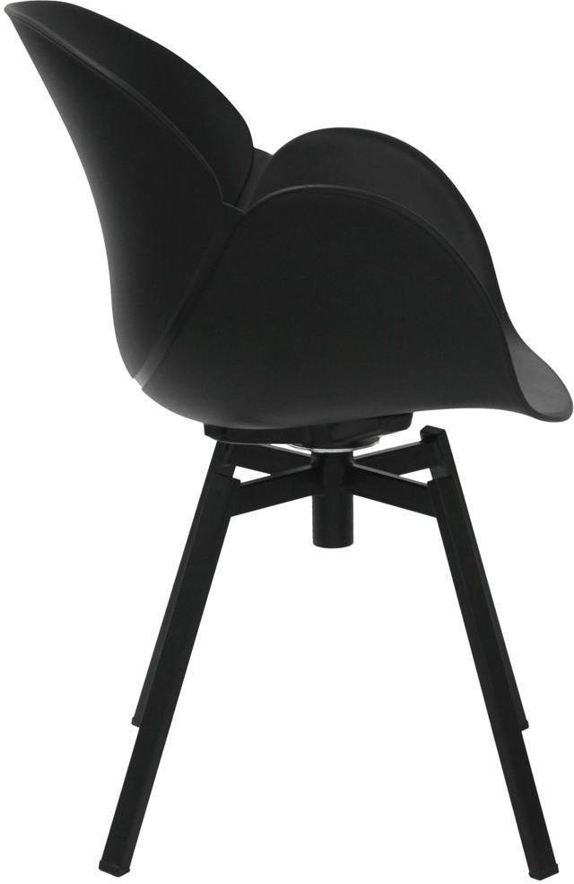 Schalenstuhl cocoon schwarz la chaise longue kaufen for Schalenstuhl schwarz