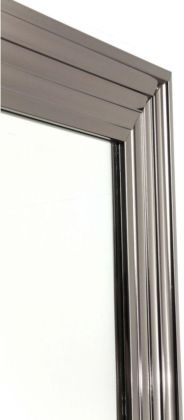 spiegel frame silver 180x90cm kare design kaufen wohn und lifestylewebshop. Black Bedroom Furniture Sets. Home Design Ideas