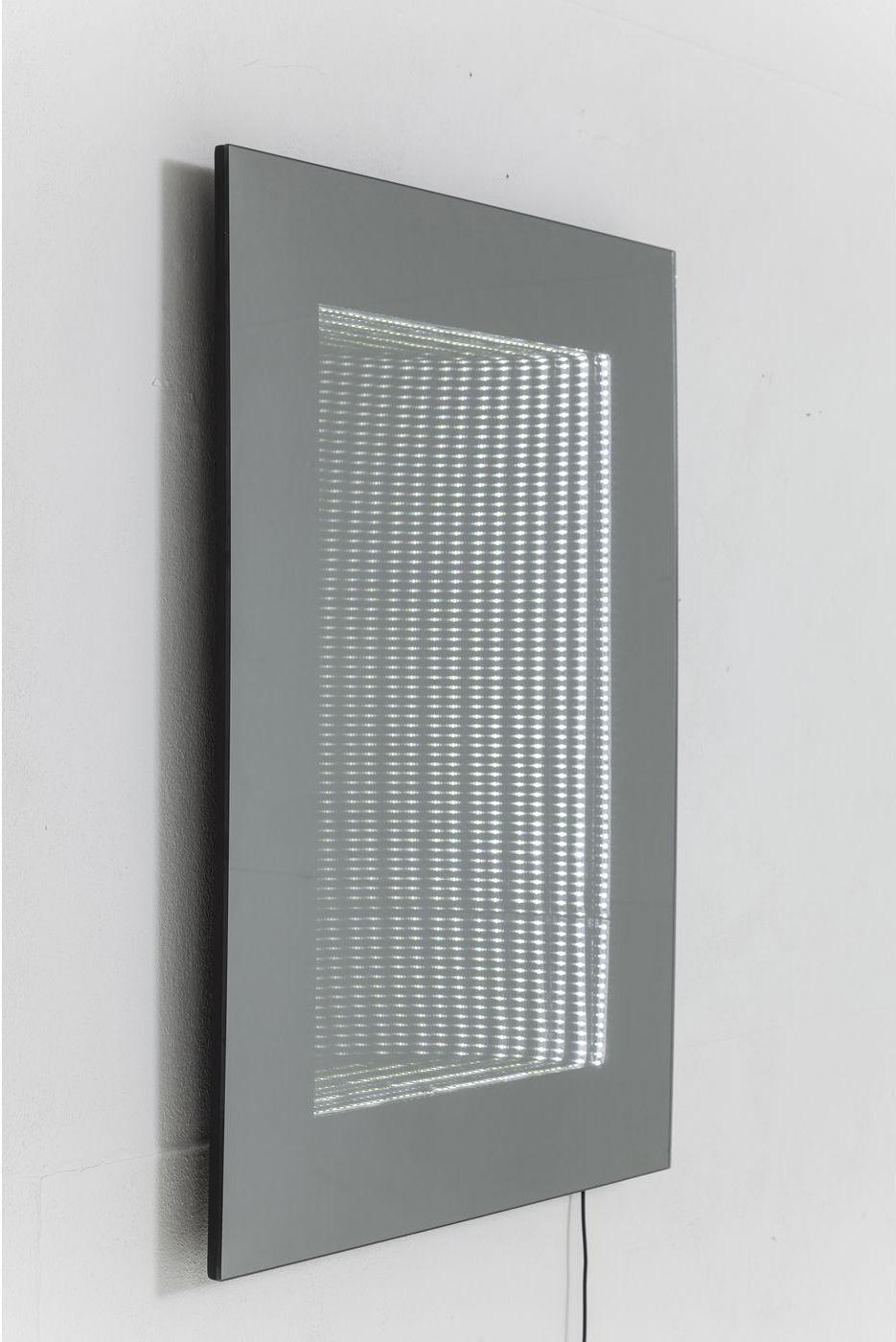 spiegel tube 80x60cm led kare design kaufen wohn und lifestylewebshop. Black Bedroom Furniture Sets. Home Design Ideas