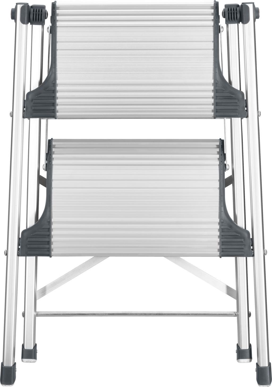 trittleiter livingstep comfort slim 2 stufen hailo kaufen wohn und. Black Bedroom Furniture Sets. Home Design Ideas