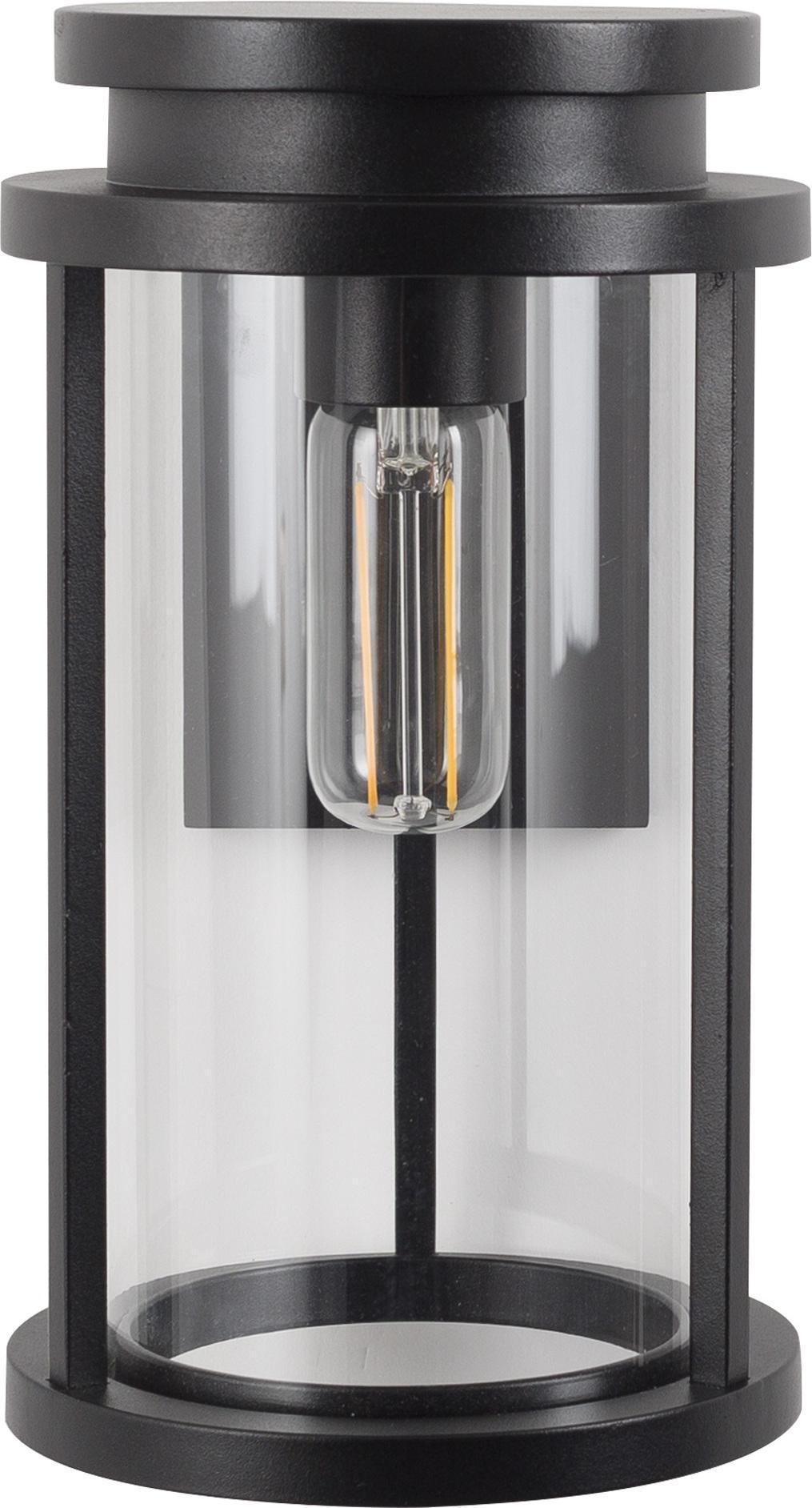 Au en wandlampe sydney l aluminium schwarz ks verlichting kaufen wohn - Aussen wandlampe ...