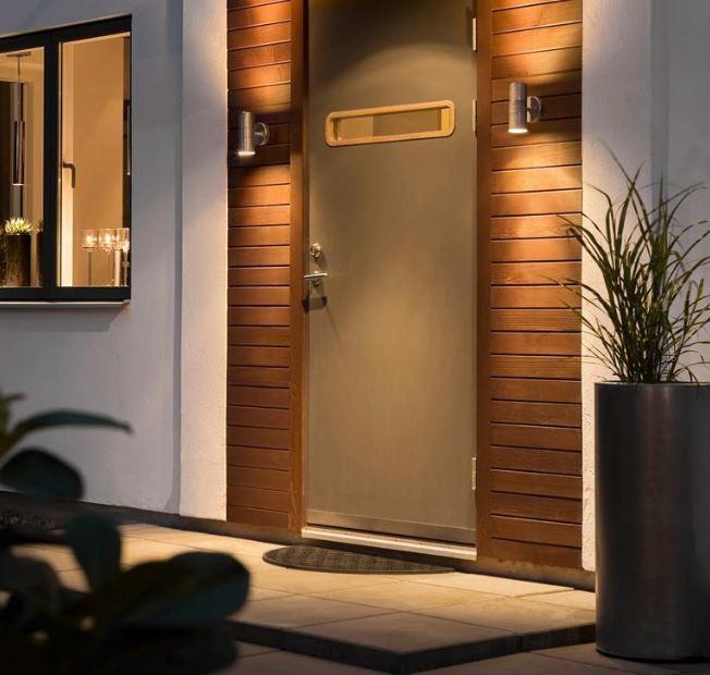 au en wandlampe up down verzinkter stahl ks verlichting kaufen wohn. Black Bedroom Furniture Sets. Home Design Ideas