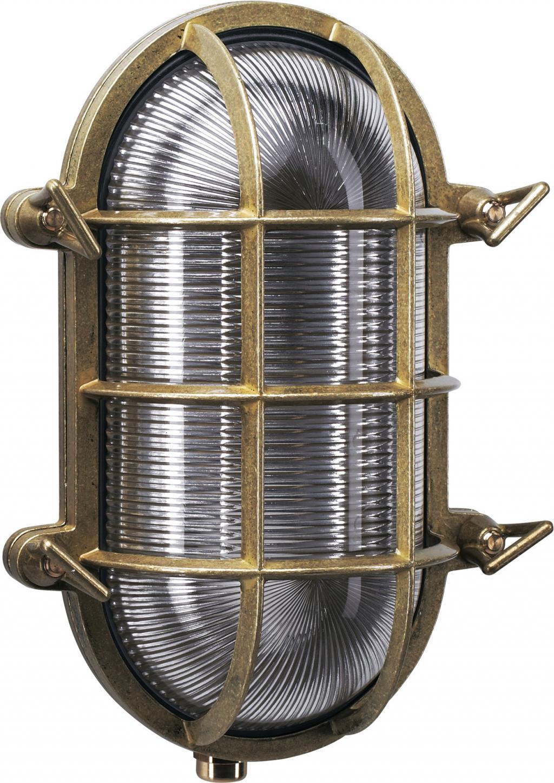 Au en wandlampe nautic 1 bronze ks verlichting kaufen wohn und - Aussen wandlampe ...