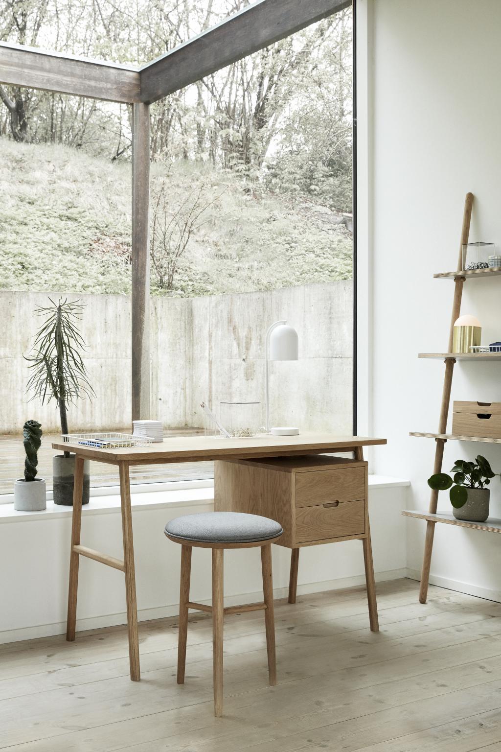 barhocker eiche mit kissen naturell h52 cm h bsch kaufen wohn und. Black Bedroom Furniture Sets. Home Design Ideas