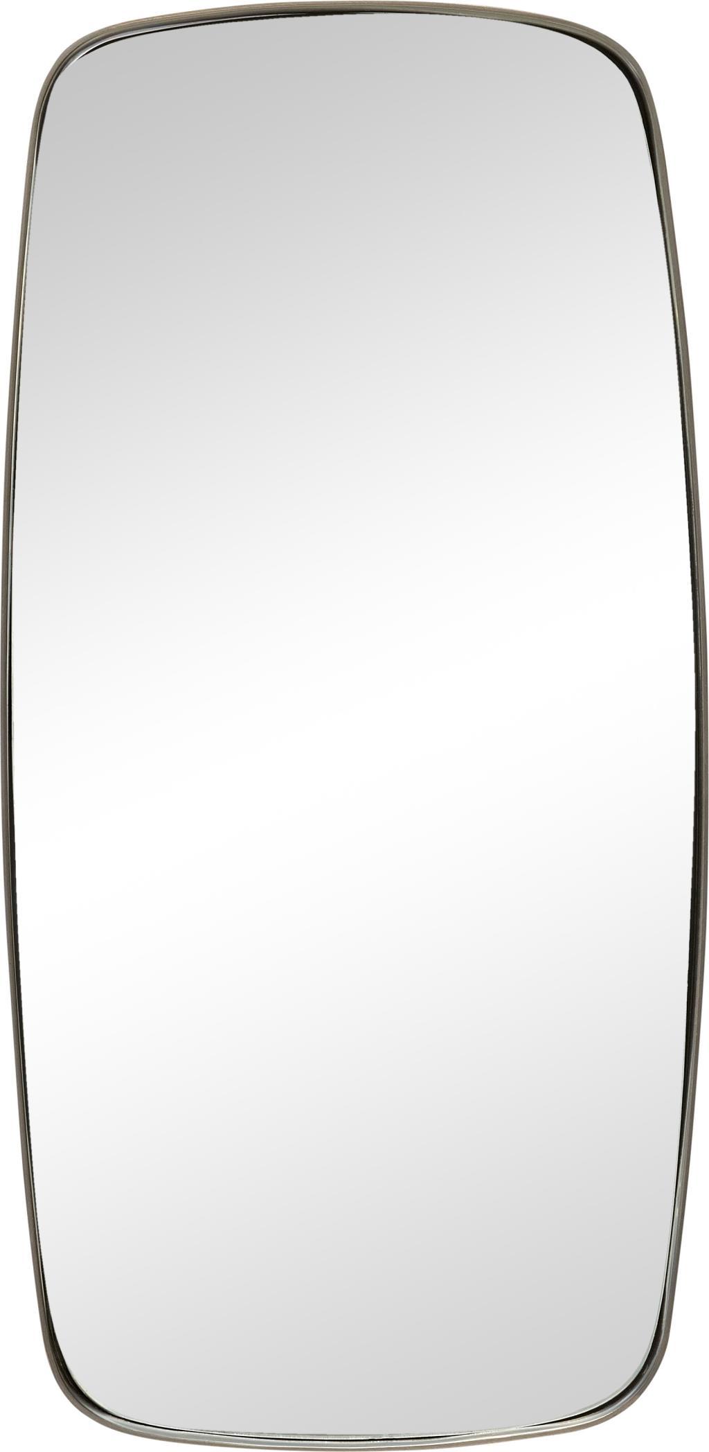 Wandspiegel mit metallrahmen 29 x 2 x 59 cm hubsch kaufen wohn und - Wandspiegel metallrahmen ...