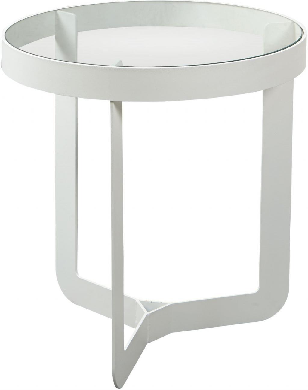 beistelltisch douglas 1 wei glas spinder design kaufen wohn und. Black Bedroom Furniture Sets. Home Design Ideas