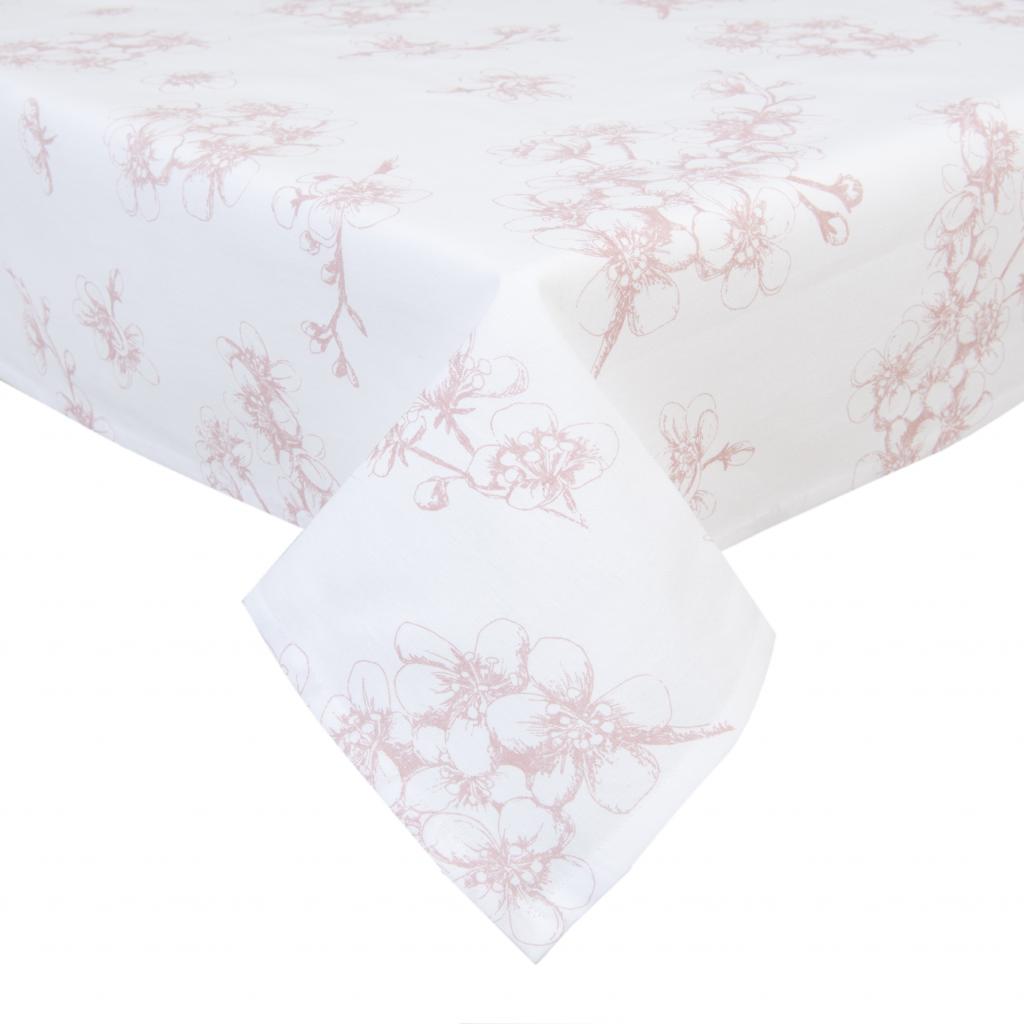 tischdecke rosa baumwolle 150 x 250 cm clayre eef kaufen wohn. Black Bedroom Furniture Sets. Home Design Ideas
