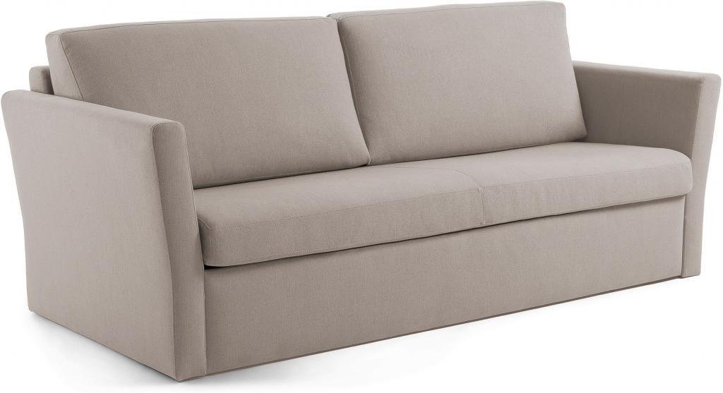 schlafcouch westriver hellgrau visco matratze 160 cm la forma kaufen. Black Bedroom Furniture Sets. Home Design Ideas