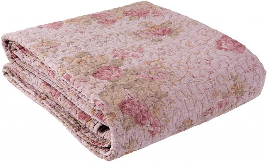 tagesdecke stonewashed 140x220cm rosa clayre eef kaufen wohn und. Black Bedroom Furniture Sets. Home Design Ideas