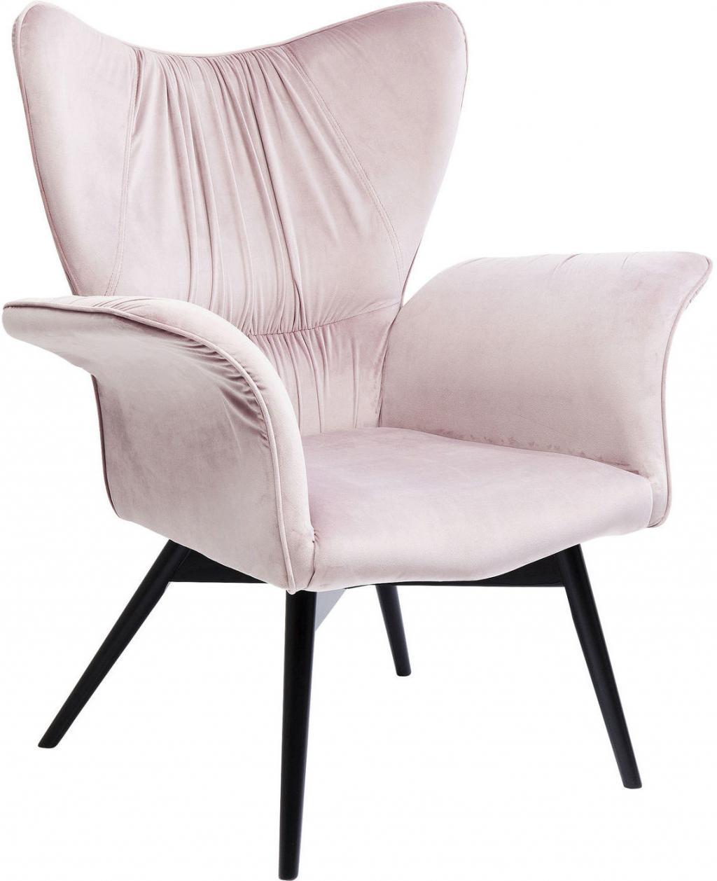 fauteuil wall street roze kare design. Black Bedroom Furniture Sets. Home Design Ideas