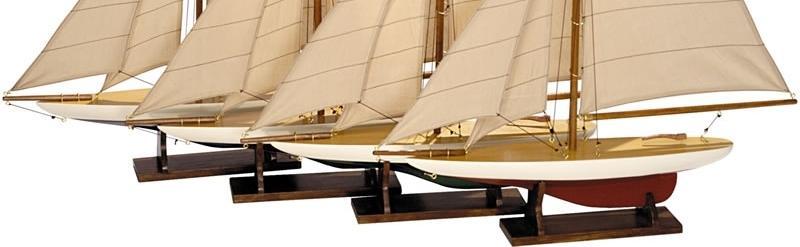 miniaturschiffe as057a mini pond yachts set 4 authentic models kaufen. Black Bedroom Furniture Sets. Home Design Ideas