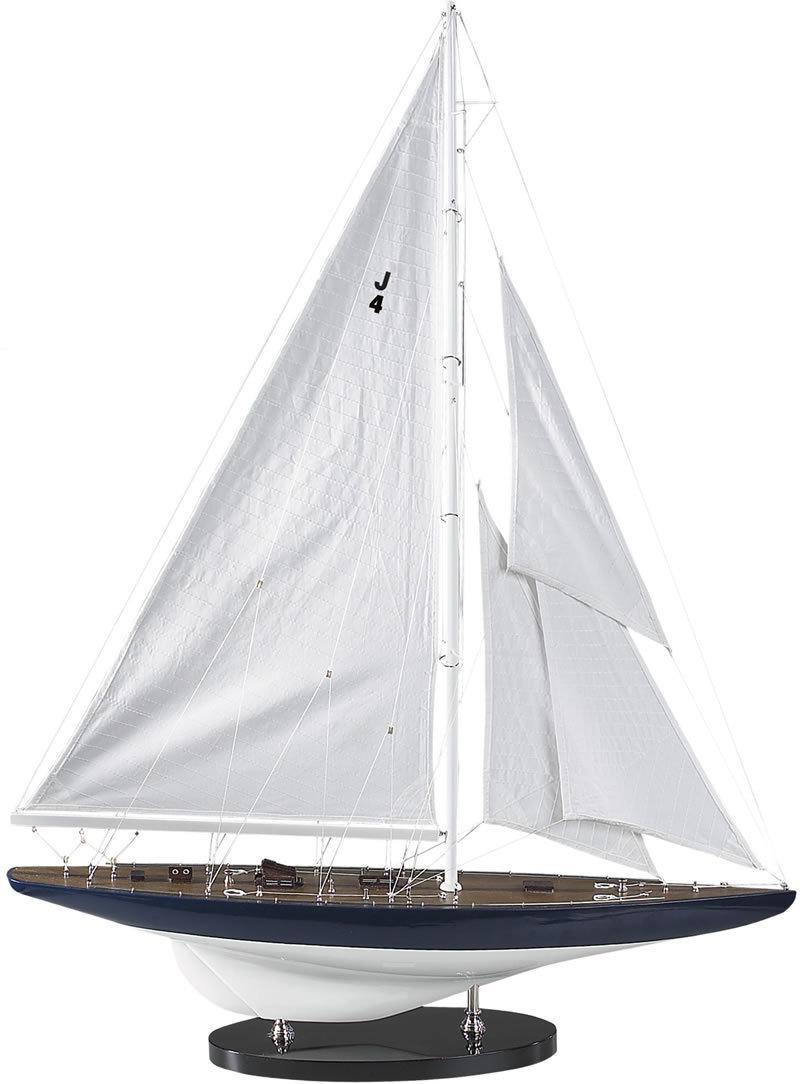 Miniatuur zeilboot as152 j yacht rainbow 1934 authentic for Decoratie zeilboot