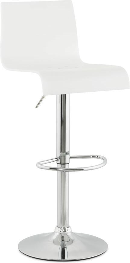 barhocker plexi wei kunststoff kokoon design kaufen wohn und. Black Bedroom Furniture Sets. Home Design Ideas