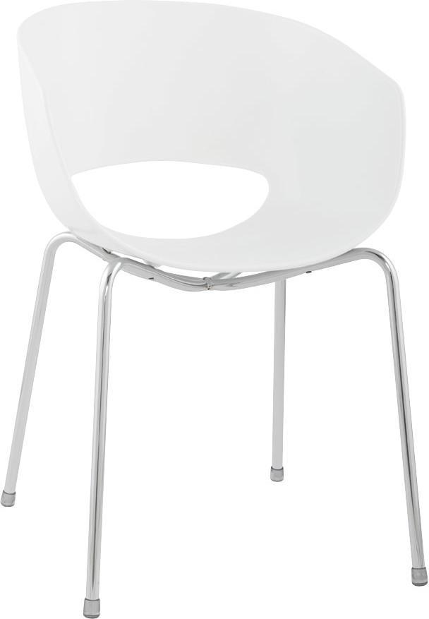 stuhl napoli wei kunststoff kokoon design kaufen wohn und. Black Bedroom Furniture Sets. Home Design Ideas