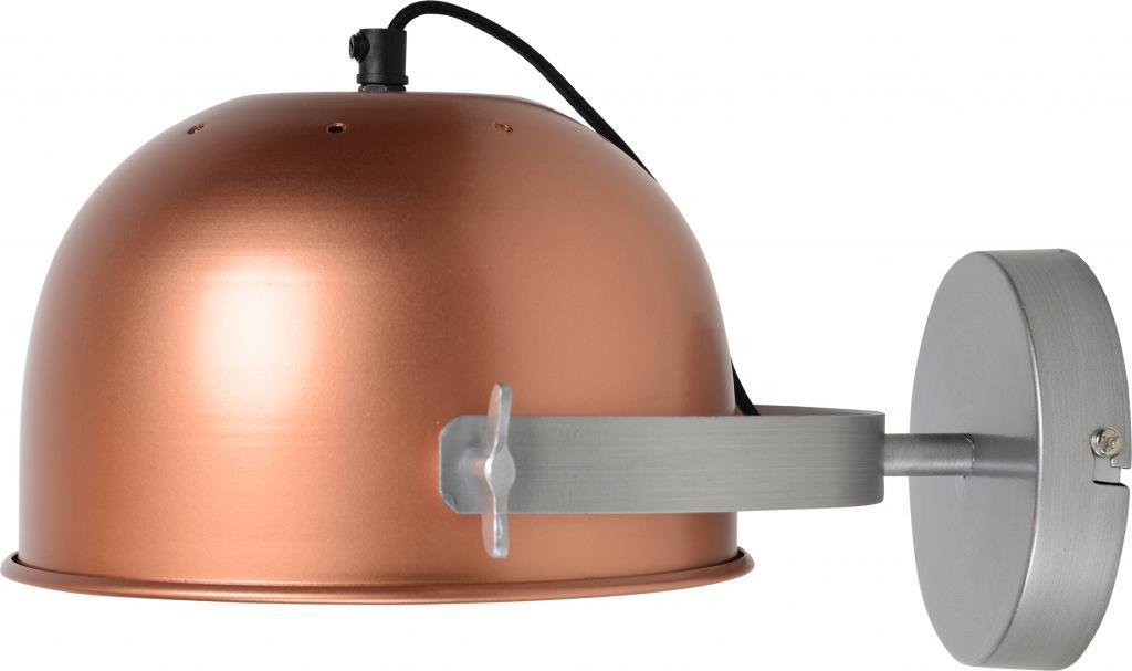 wandlampe retro 22cm kupfer urban interiors kaufen wohn und. Black Bedroom Furniture Sets. Home Design Ideas