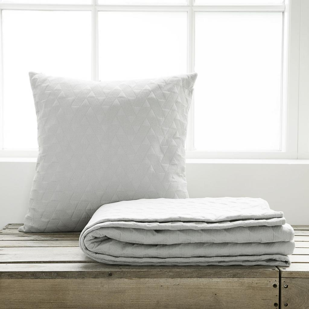 decke leh grau 240x240 100 baumwolle house doctor sale kaufen. Black Bedroom Furniture Sets. Home Design Ideas