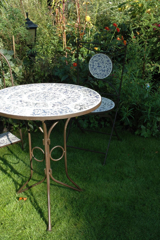 Gartentisch aged keramik esschert design kaufen wohn und - Gartentisch design ...