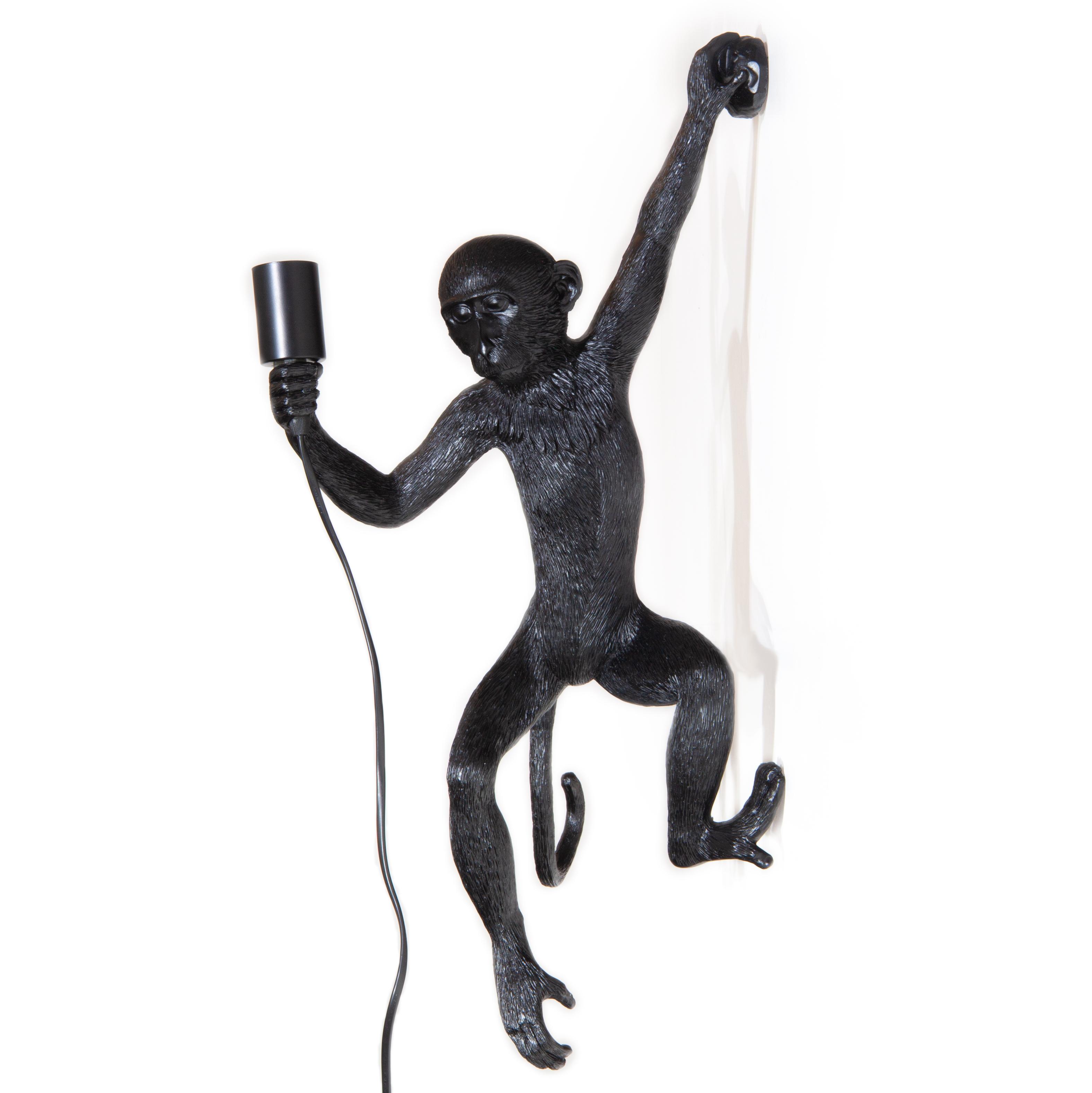 Wandlamp Aap - Zwart - LiL Design
