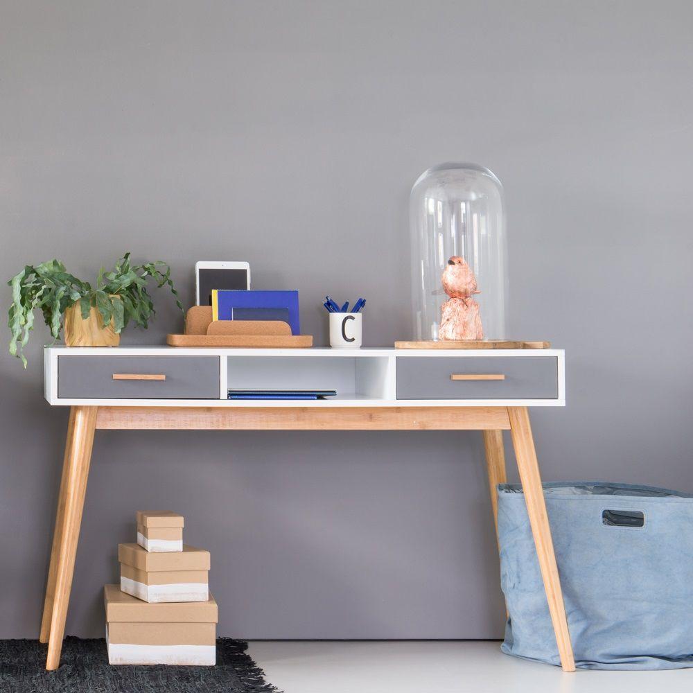 Bureau Okay - Grijs/Wit - MDF - Le Studio