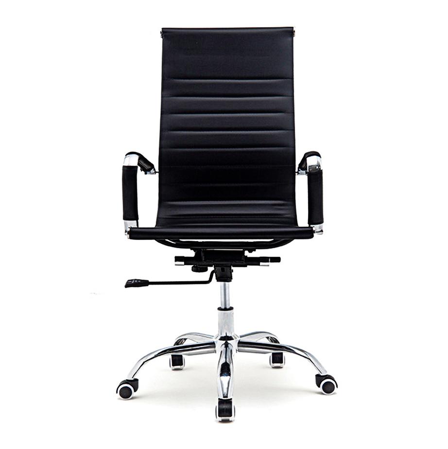 Bureaustoel Randers - Zwart hoge rugleuning