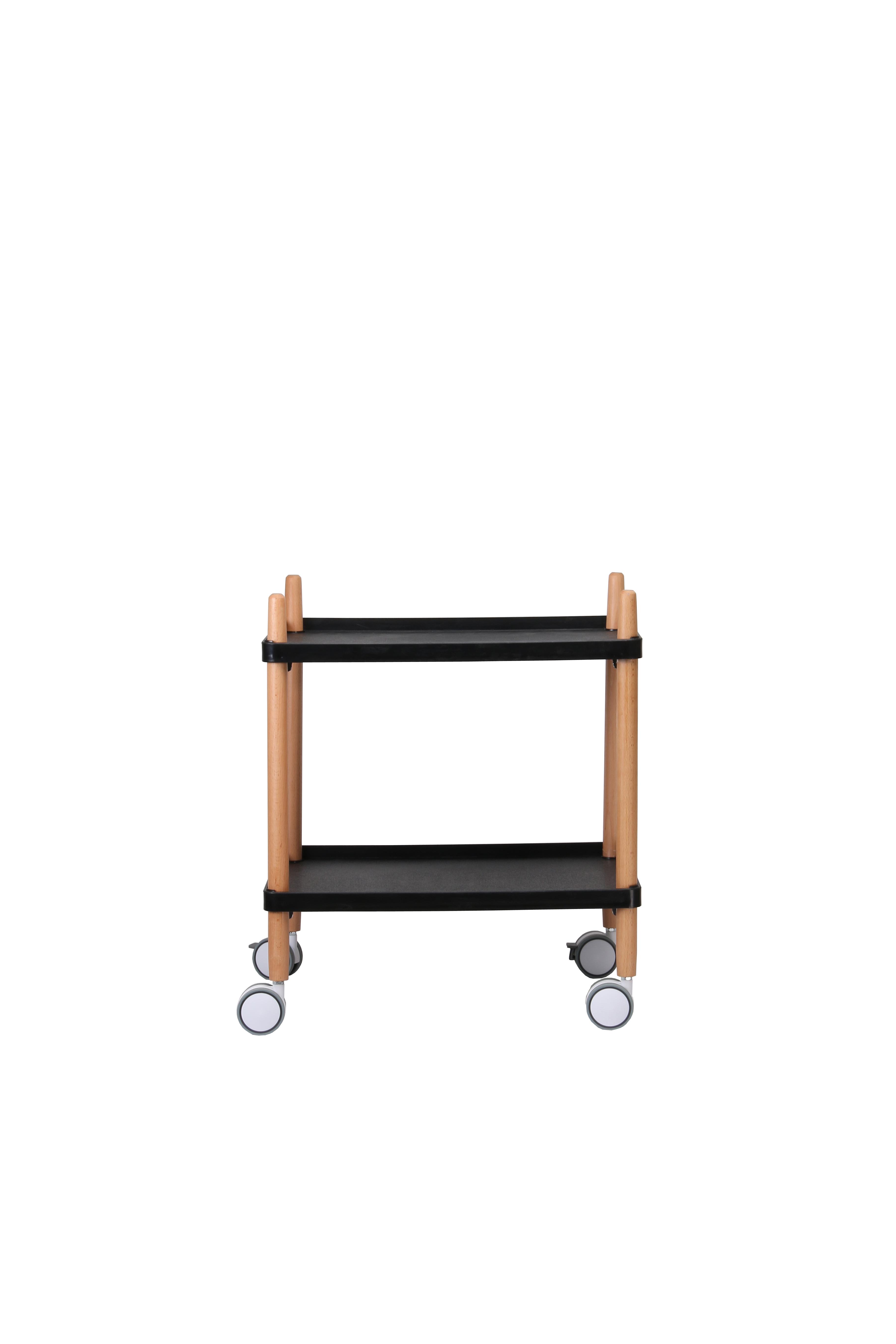 Verrijdbare Trolley - Favrskov - Zwart - Ulve