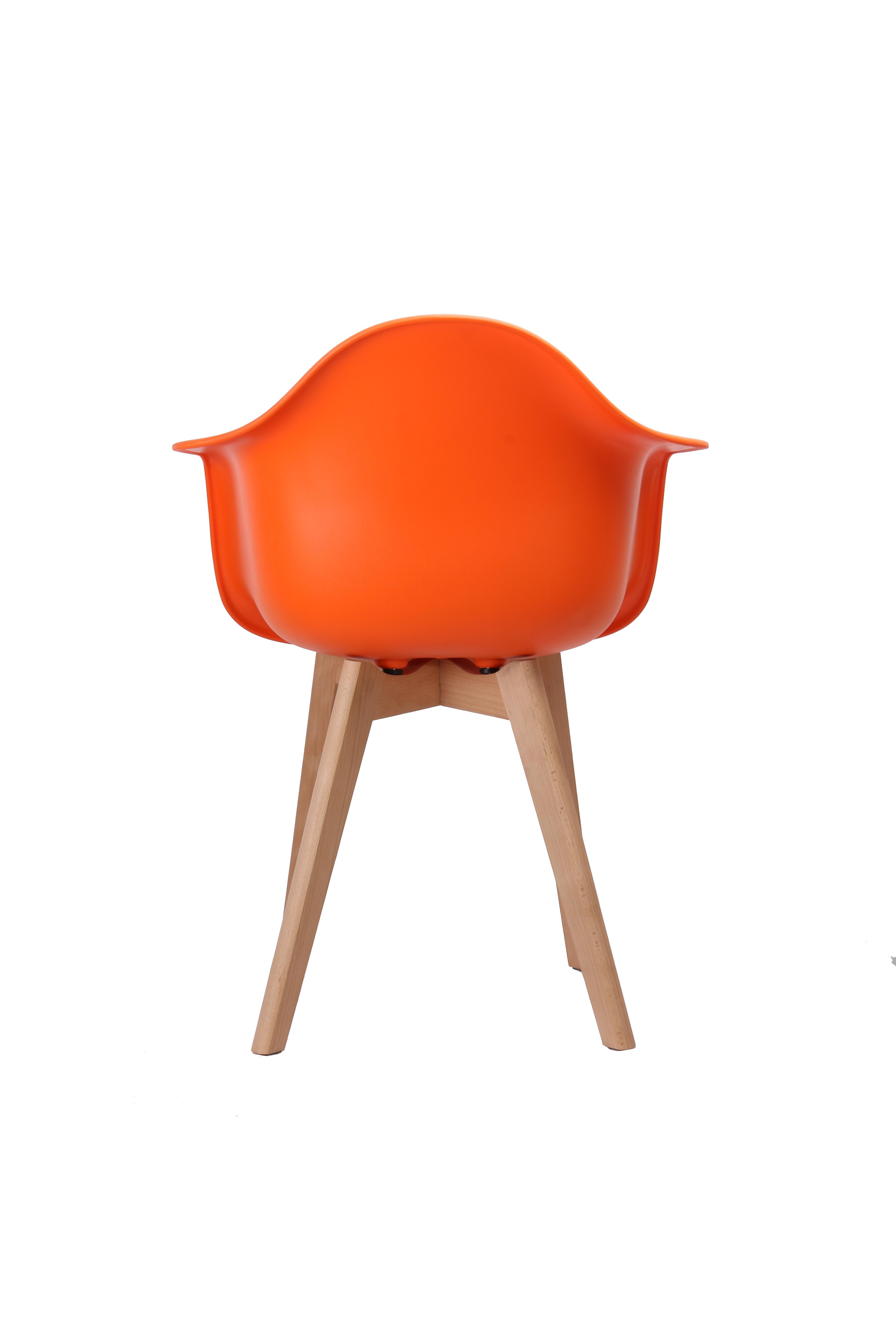 Stoel Egedal - Oranje - Ulve