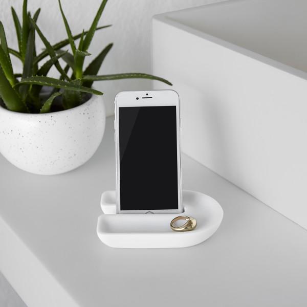 JUNIP PHONE HOLDER WHITE