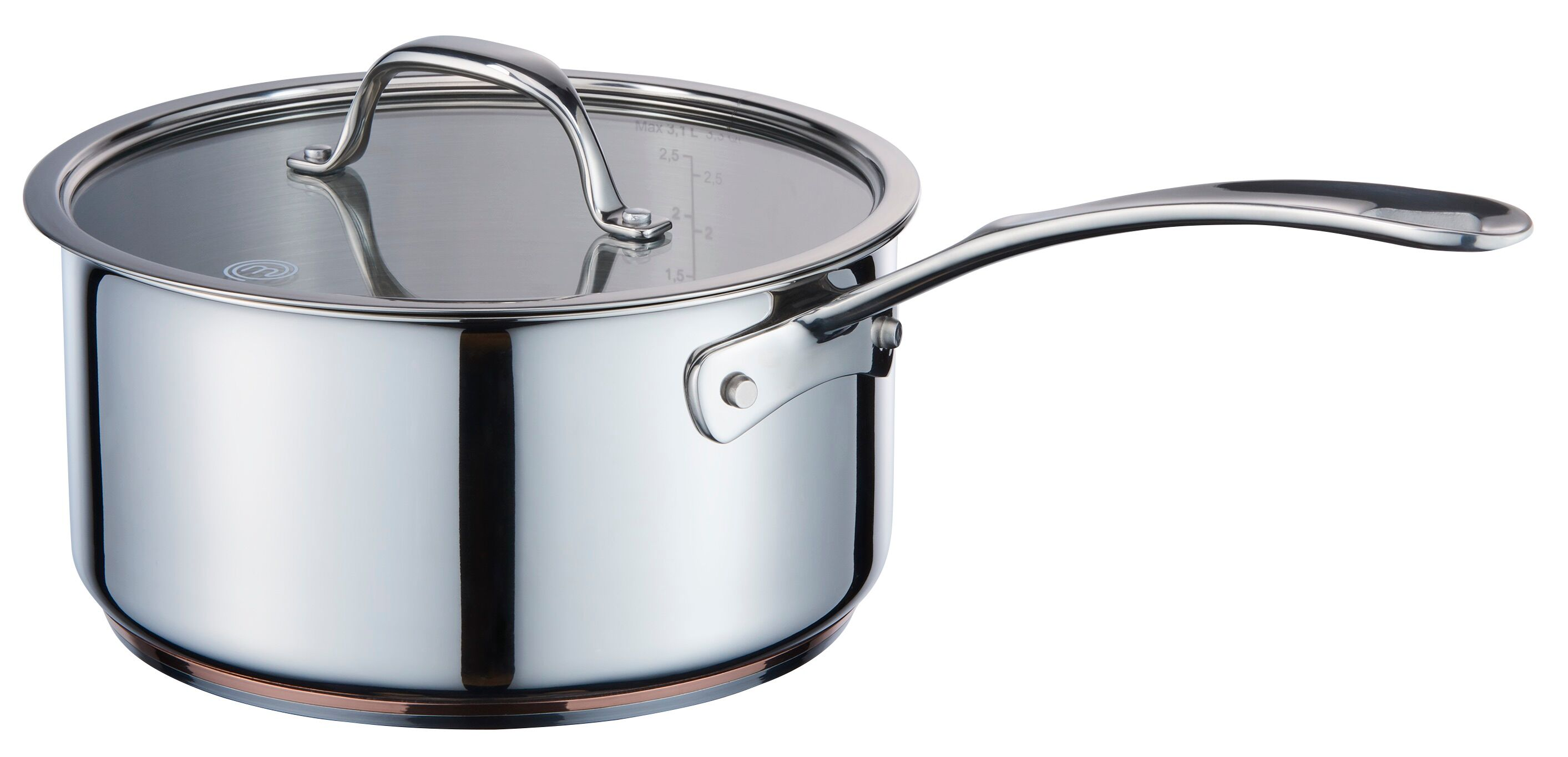 MasterChef Copperline Saucepan 16cm