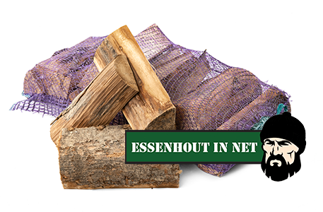 Eikenhout in net