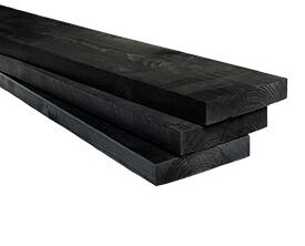 Zwart steigerhout