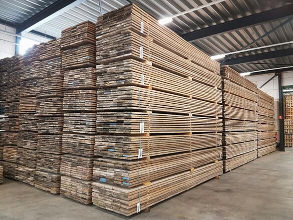 Gebruikt steigerhout | Steigerplank.com