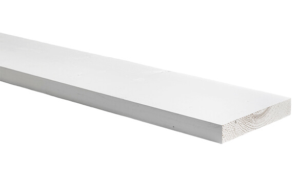 Witte steigerplank | Steigerplank.com
