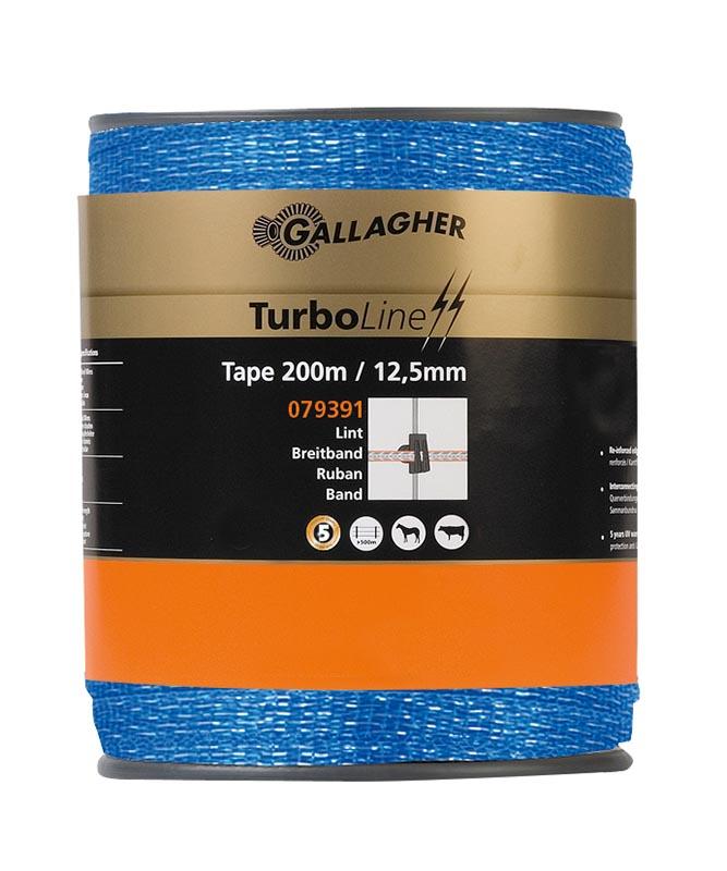 Gallagher TurboLine lint 12,5mm blauw 200 meter