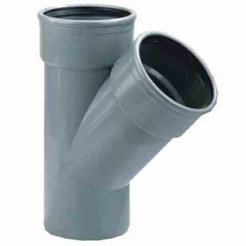 PVC T-STUK 45 graden Manchet SPIE