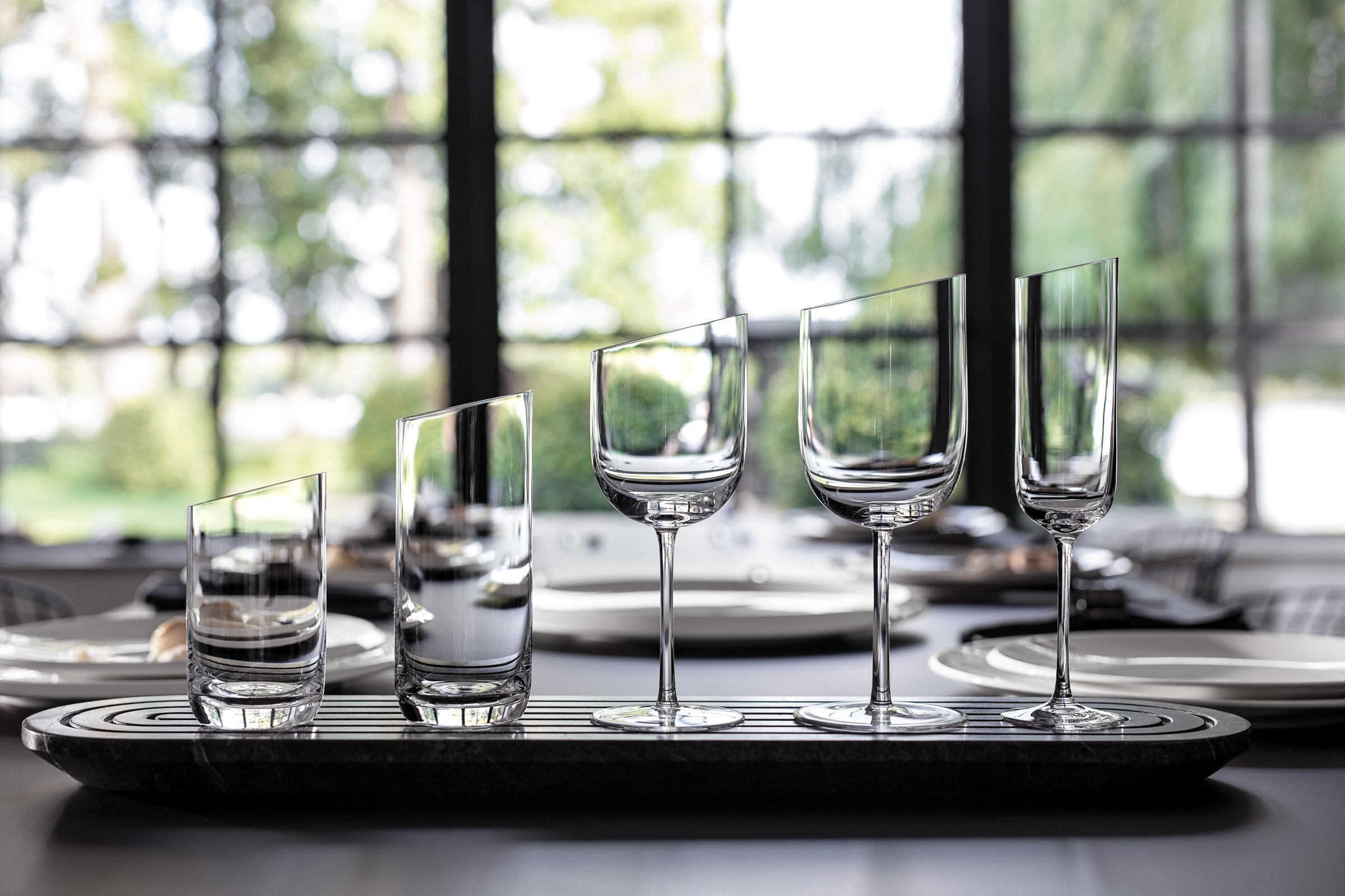 Villeroy & Boch NewMoon glasservies