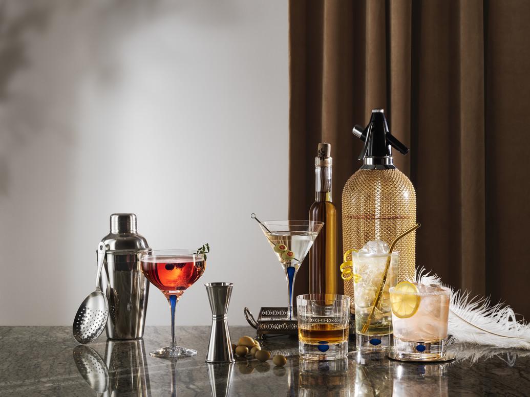 Orrefors Intermezzo martiniglas