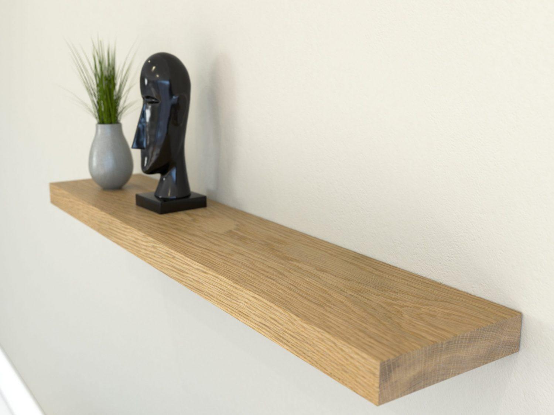 Blinde Plankdragers - Zwevende plank aan muur