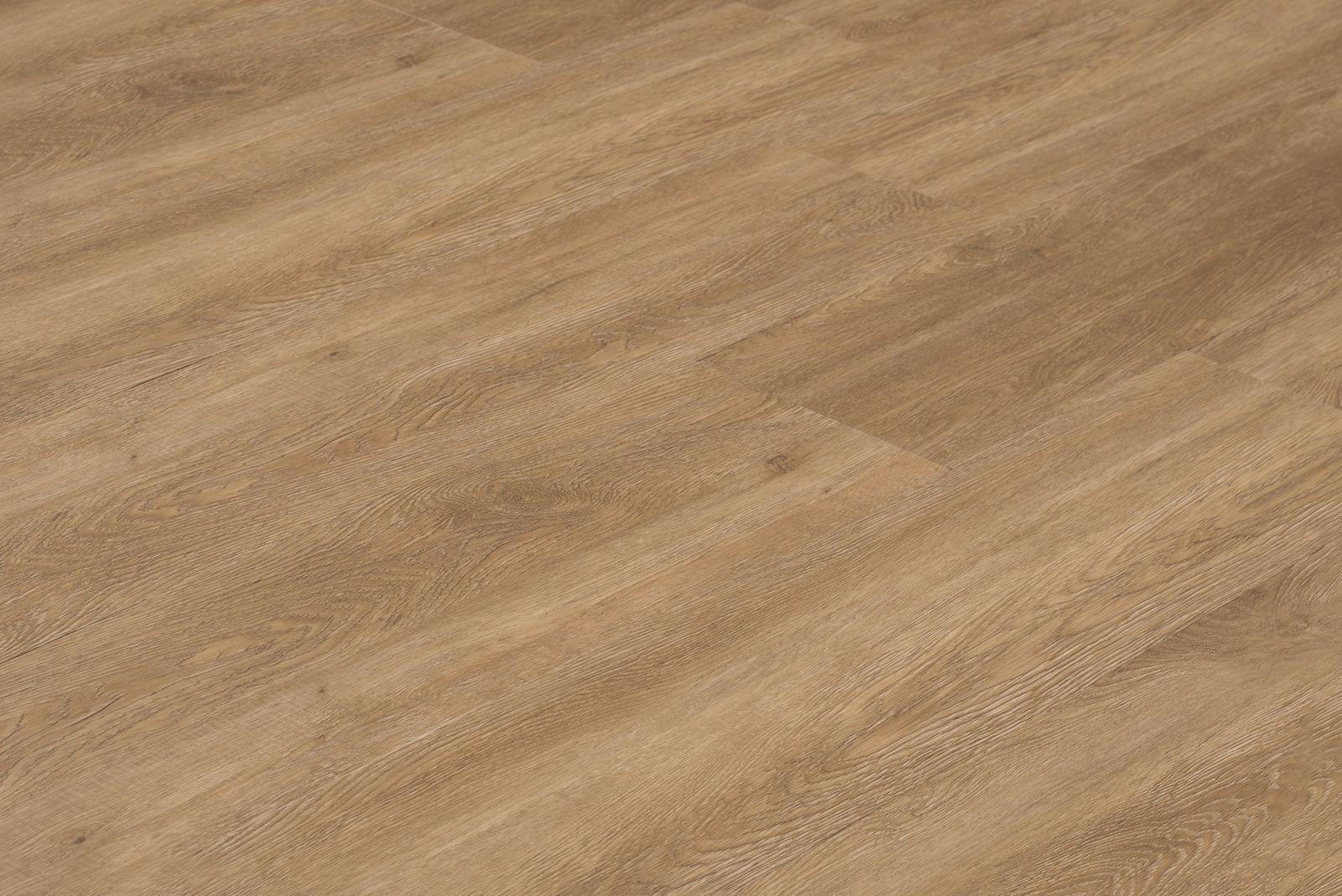 Floer stroken pvc vloer planken hoorn donker bruin eiken breed