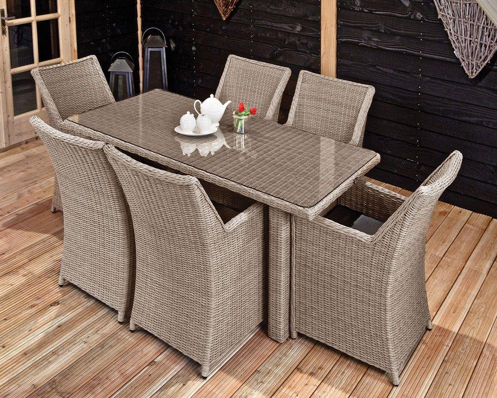 Dinner sets tuin eettafel met stoelen voor buiten for Stoelen voor buiten